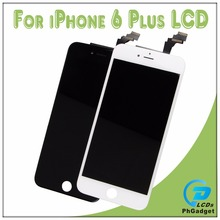 Touch Screen Digitizer + LCD Display Assembly Replacement For Apple IPhone 6p 6 plus Black and White Top Quality