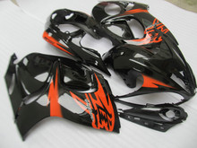 Injection Mold for SUZUKI Hayabusa GSXR1300 08 09 10 11 12 13 14 GSXR 1300 2008 2014 Red Gloss black Fairings set+7 gifts GH14