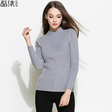 Sweater Shirt Women Jumper 2017 Autumn Winter plus Size Sweater Long Sleeve Women Knitwear Loose Sweater Female Pullover(China)