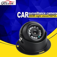 Gision Mini Car Camera FreeShipping Dom CCD Sony Night Vision IR Backup Vehicle Camera With Aviation Interface(China)