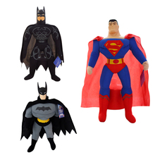 "1pcs 10"" 25cm Wholesale Best-selling Toy Spiderman, Batman, Superman,High Quality,Plush Toy, Children's Christmas Gift"