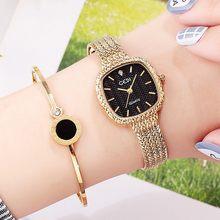 383598ef183 Promoção de Relógios De Ouro Quadrado - disconto promocional em  AliExpress.com