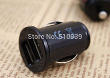 1pcs/lot 2.1A Dual USB Car Charger for iPhone 3G 3GS 4G 4S 5 5S For iPod iPad car charger free shipping!