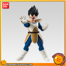 "Japan Anime ""Dragon Ball Z"" Original BANDAI Tamashii Nations SHODO Vol.4 Action Figure - Vegeta (9cm tall)"