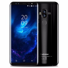 Blackview S8 5.7 Inch HD+ 18:9 Aspect Ratio Screen Mobile Phone Android 7.0 MTK6750T Octa Core 4GB+64GB 4 camera 4G Smartphone(China)