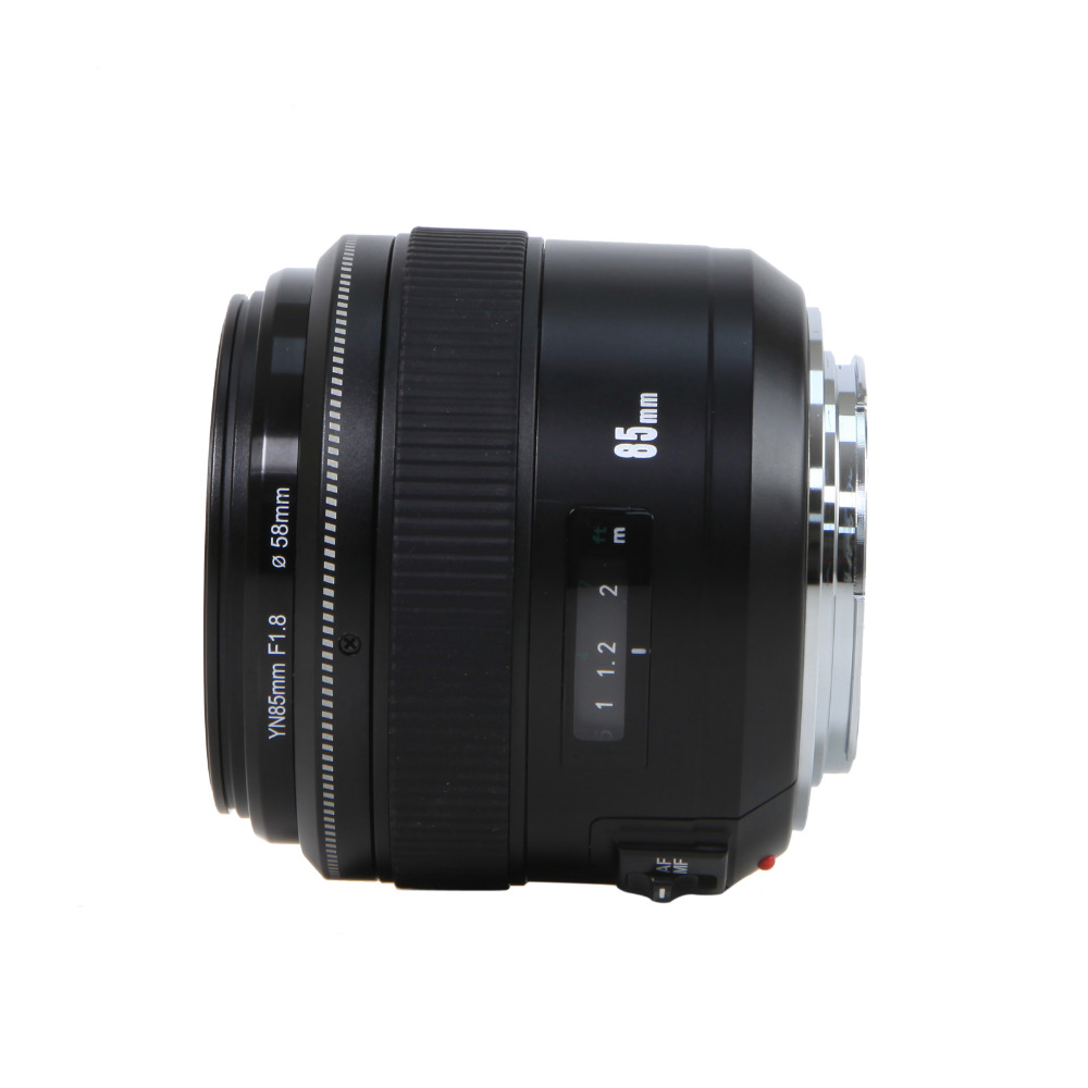 Yongnuo 85mm f1.8 prime Lens for Canon EOS EF Mount SLR Cameras medium telephoto lens prime Auto focus and Manual focus Lenses Camers (4)