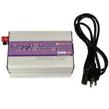 MPPT 300W Grid Tie Solar Power Inverter 10.8-30V/22-60V DC to AC110V or 220V Pure Sine Wave Inverters 300W for Solar Panels