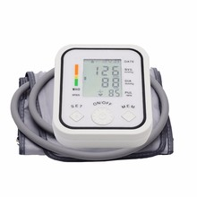 Arm Blood Pressure Monitor for Health Care Measurement Intelligent Home Use Electronic Sphygmomanometer Automatic Upper