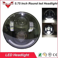"5-3/4"" Angel Eye Accessories Harley Daymaker Headlight Harley Davidsion Sportster 1200 72 48 Iron 883 H4 LED Moto Round Headlamp"