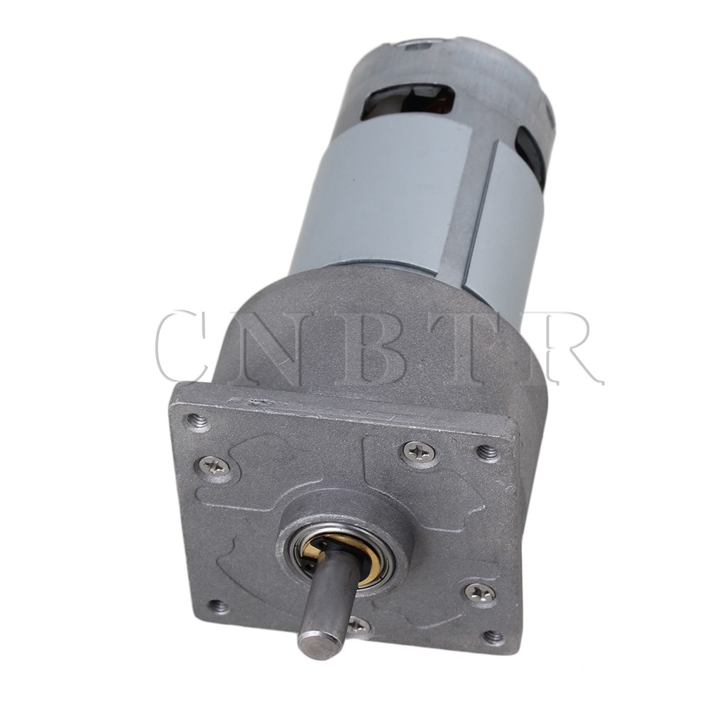 CNBTR High Torque 24V DC 10 RPM Gear-Box Electric Motor Replacement 4600r/min  <br><br>Aliexpress
