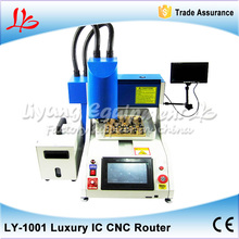 800W Grind Polishing Milling Engraving Machine LY 1001 Automatic iphone IC CNC Router Machine for iPhone Repairing