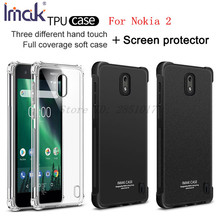 sFor Nokia 2 Case Nokia 2 Case Silicon Imak Shockproof AirBag Series Soft TPU Back Cover Nokia2 Case(China)