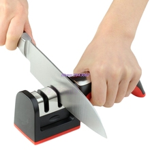 Professional Hard Stainless Steel Sharpening Stone 2 Stages Household Knife Sharpener Kitchen Sharpening Tools MAR24_30