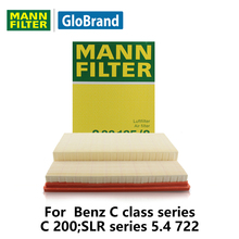 MANNFILTER  car air Filter C30195/2 for  Benz C class series C 200;SLR series 5.4 722 auto  parts