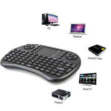 Mini I8 Fly Air Mouse Smart Remote Control For Android Tv Box Laptop Tablet PC Gamer 2.4GHz Wireless Keyboard Touchpad Handheld