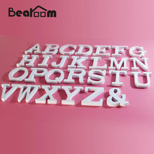 English Letters Wood Crafts Figurines DIY Home Decors for Romantic Wedding Festivals Birthday Party Decorative Crafts Miniatures