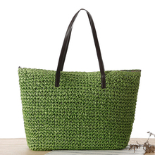 Woven Straw Handbags Summer Fashion Beach Bags Women Large Tote Bags For Women Branded Hollow Out Women Messenger Bags Ladies