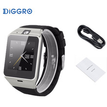 NFC Bluetooth Excelvan GV18 Smart Watch Camera Unlocked SIM Phone Sync Music Sedentary Sleep Sports Reminder For Android IOS(China)