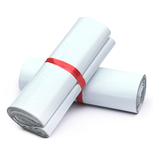 White color self-adhesive poly mailer White poly mailing post envelope pouches Plastic Express Courier bags
