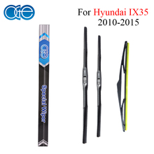 Oge Front And Rear Wiper Blades For Hyundai IX35 2010 2011 2012 2013 2014 2015 High Quality Rubber Windshield Car Accessories(China)
