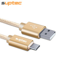 SUPTEC USB Type C Cable Fast Charging USB Type-C Data Cable Samsung S8 Huawei P9 LG G5 Xiaomi 4C OnePlus 2 Nexus 5X 6P 950