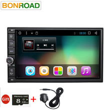 "Bonroad7""2Din Android 6 Android 7 Car Multimedia Play Tap PC Tablet For Nissan GPS Navigation Radio Stereo Video Player(No DVD)(China)"