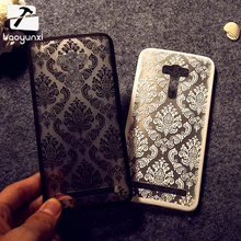 For Asus ZenFone Selfie ZD551KL Covers Anti- Scratch Hard Plastic ZD551KL Shell Bags Painted Henna Floral Retro Phone Cases