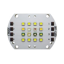 Customize 4 Channel 16Leds Cree XPE XP-E Epileds Led Reef Sea Lamp Light For Fish Tank Aquarium Led Bulb Lamp Lightings(China)