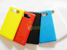 YOU KIT OEM For Nokia Lumia 820 Wireless Charger Charging Housing Chip Battery Cover Case Rear Back Door Lid With Side Buttons
