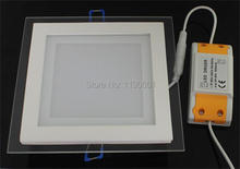 DHL Free shipping 12W led panel lights led recessed celling light spotlight lamp 1200Lm 10pcs/lot(China)