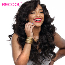 Recool Hair Malaysian Body Wave Natural Color Human Hair Bundles 8-30 inch Double Weft Hair Bundles 100% Remy Hair Extensions