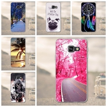 Luxury Dogs Beach Cover Soft TPU Case For Samsung Galaxy A3 2016 A310F 310 Silicone Phone Cases Samsung A3 A310F A310 Phone Bags