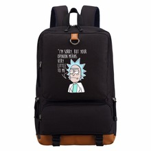 Rick and Morty  backpack schoolbag casual backpack teenagers Men women's Student School Bags travel Shoulder Bag Laptop Bags