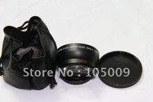 52mm 0.45X Wide Angle Lens with Macro lens for NIKON D3000 D5000 D40 D60(China)