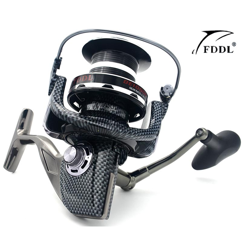 FDDL 9000/10000 full metal spool Jigging trolling long shot casting for carp and salt water surf spinning big sea fishing reel<br>