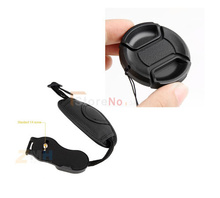 40.5mm Lens Cap Cover + Wrist Hand grip strap For Nik&n J1 J2 V1 V2 Samsung NX1000 NX2000 NX100 NX200 NX210 Olympus E-PL5 EP-1