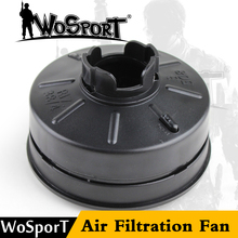 WOSPORT Tactical Skull Mask Accessories Toxic M04 Military CS Wargame Airsoft Paintball Safety Gas Air Filtration Fan