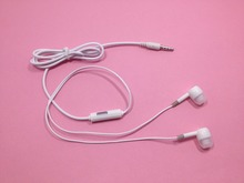High Quality 3.5mm Earphones Super Bass headset With Mic For IPhone 5 5S 6 Plus Samsung MP3