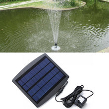 VANDER LIFE Hot sale new arrival 7.2V Floating Water Pump Solar Panel Garden Plants Watering Power Fountain Pool New Arrival