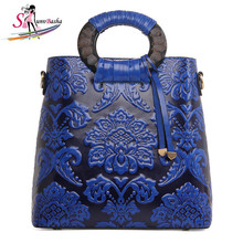 National Top Boston Totes Hard Wind Bridal Bags 2017 New Brand Handmade Round Wooden Handbags Pu Leather Tote Handbag wholesale