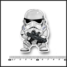 Star Wars Character Waterproof PVC Laptop Notebook Skin Sticker Car Styling Home decor jdm For kid Toy Suitcase Stickers[single](China)