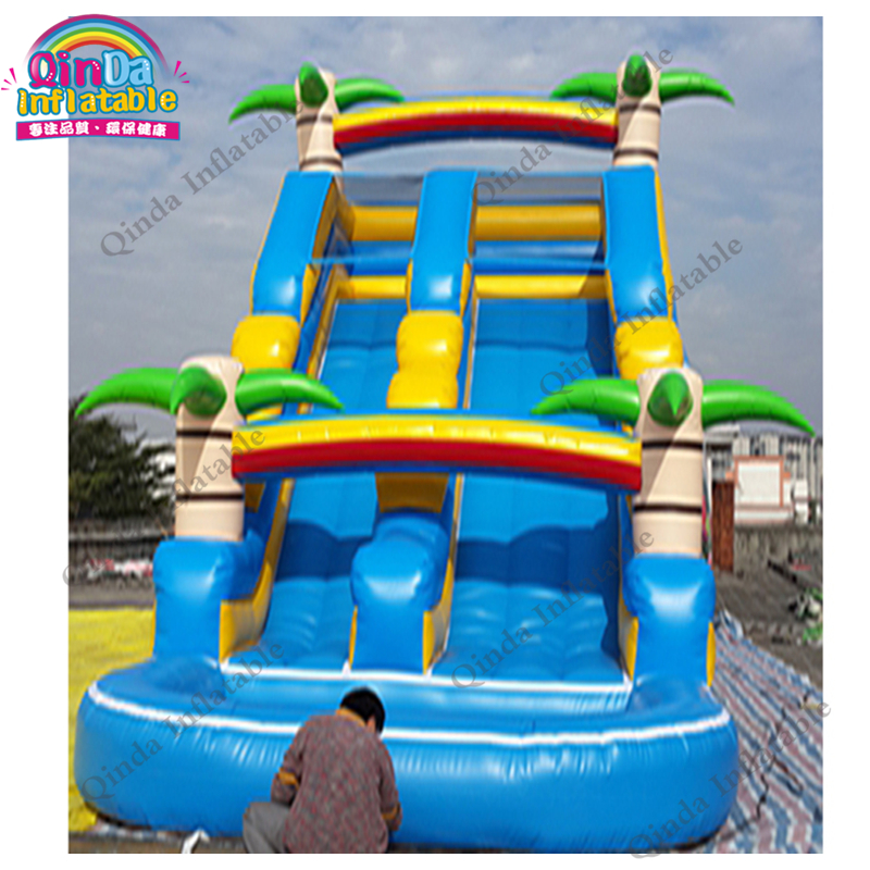 inflatable water slide with pool182