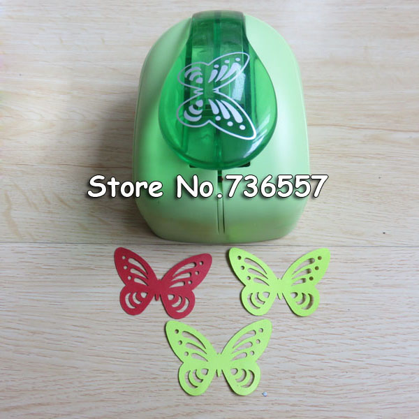 Jef Large Butterfly Shaper Craft Punch Scrapbooking Punches Paper Puncher DIY tools Perforadora Papel Paper Cutter School<br>