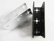 2pcs/lot, Aluminum U-shapped Beam (Silver/Black) And Robot Arm,DIY Robotic arm, Free shipping