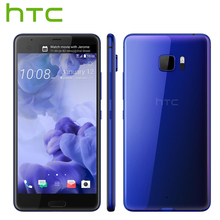 Original HTC U Ultra LTE Mobile Phone 4GB 64GB Snapdragon 821 Quad Core 5.7 inch 2560x1440px Android 7.0 3000mAh 16MP DualView(China)