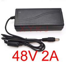 High quality IC solutions 1PCS AC 100V-240V Converter DC 48V 2A Power Supply Adapter 96W Adaptor