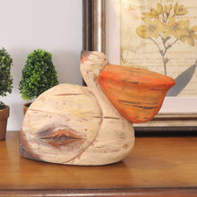 Cafe Home Furnishing animal fish living room decoration wine cabinet Shelf Bookcase terracotta decoration seabirds