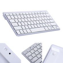 Mini Wireless Bluetooth Keyboard Aluminum Ultra Slim Mini Wireless Bluetooth Keyboard for Windows Android IOS PC Smart Phones