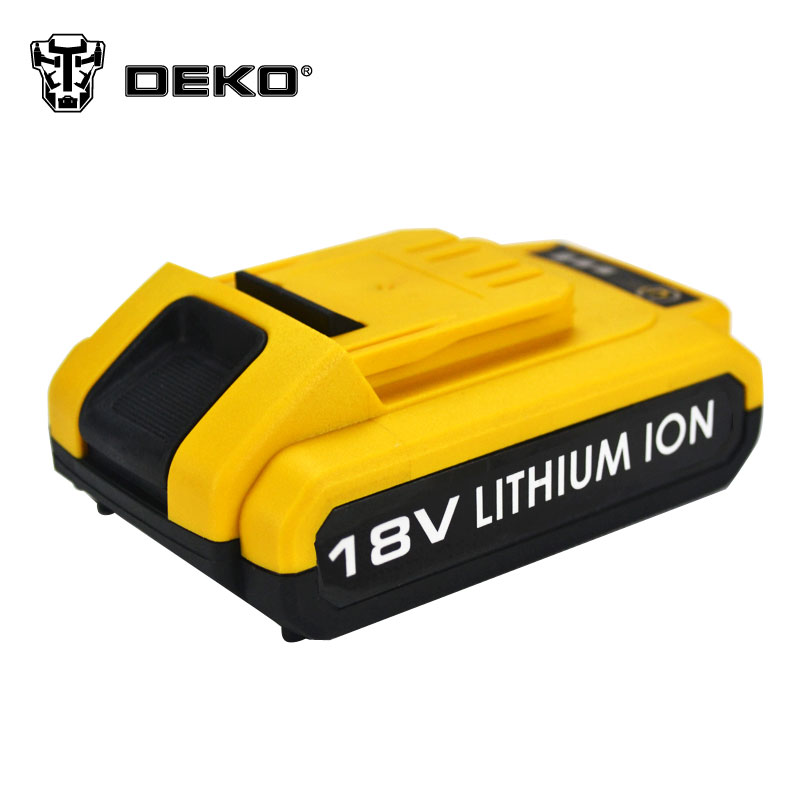DEKO 18V cordless drill DC New Design Mobile Power Supply Lithium Battery<br><br>Aliexpress