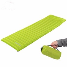 Portable TPU Sleeping Pad 186*60*8.5cm Fast Inflatable Urltra-Light Ground Mat Air Mattress Outdoor Camping Backpacking Hiking(China)